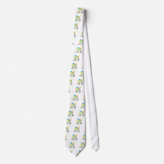 Spring Cow and Calf Tie