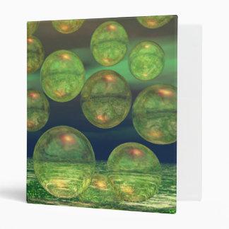 Spring Creation – Green & Gold Renewal Vinyl Binders