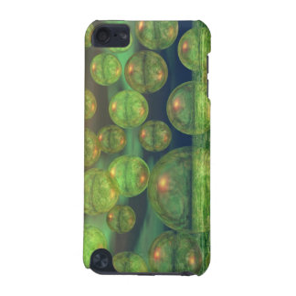 Spring Creation – Green & Gold Renewal iPod Touch (5th Generation) Covers