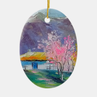 Spring Crimea Ceramic Ornament