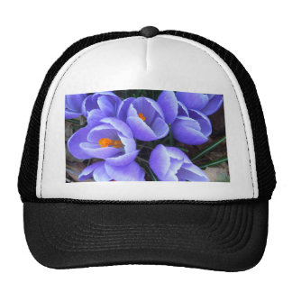 Spring Crocus CricketDiane Flowers Products Trucker Hats
