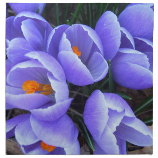 Spring Crocus CricketDiane Flowers Products Napkin