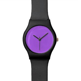 Spring Crocus Purple Violet 2015 Color Trend Wristwatches