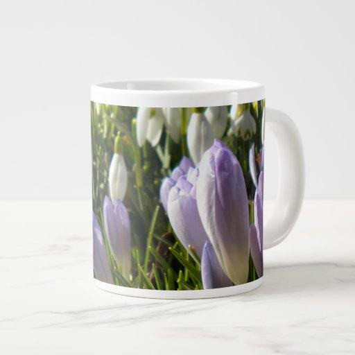 Spring Crocus Specialty Mug Jumbo Mug