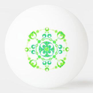Spring Crop Circle Paranormal UFO Art Ping-Pong Ball