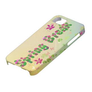 Spring cyclamen iPhone SE/5/5s case