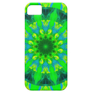 Spring Daffodil, Green Blue Yellow Flower Dance iPhone SE/5/5s Case