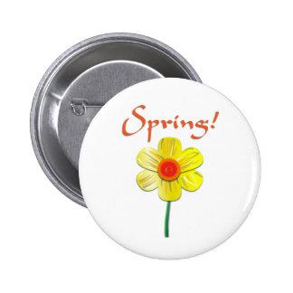 Spring Daffodil Pin