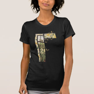 Spring Daffodils and Butterflies T-Shirt
