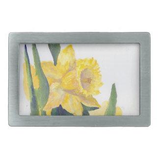 Spring Daffodils Belt Buckle