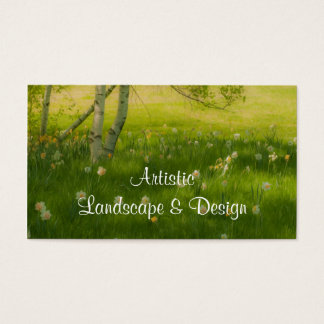 Spring Daffodils Business Card