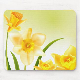 Spring Daffodils. Easter Gift Mousepads Mouse Pad