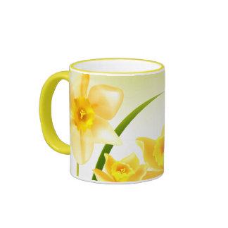 Spring Daffodils. Easter Gift Mugs