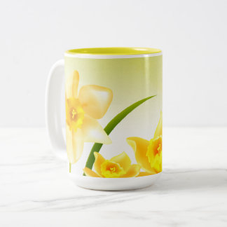 Spring Daffodils. Easter Gift Mugs