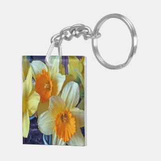 Spring Daffodils Keychain