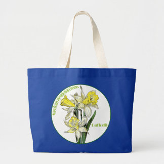 Spring Daffodils Large Tote Bag