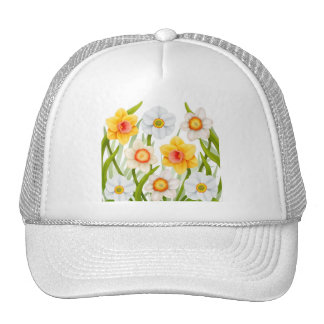 Spring Daffodils Mesh Hat