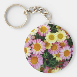 Spring Daisies Blooms Keychains