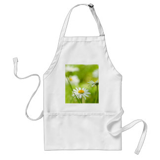 Spring daisies close up adult apron