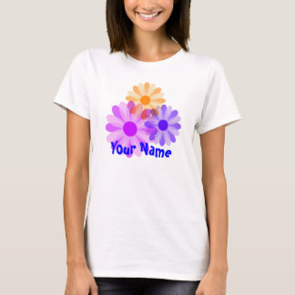Spring Daisies, Your Name T-Shirt