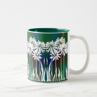 Spring Daisy A Coffee Mugs