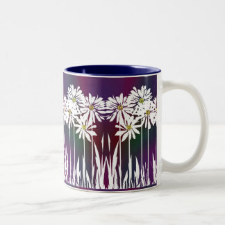 Spring Daisy B Coffee Mugs