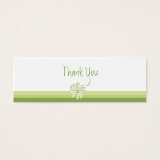 Spring Daisy Favor Gift Tag