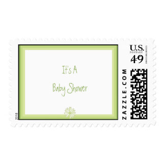 Spring Daisy Its A Baby Shower Custom Postage