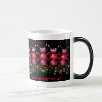 spring dance of the ants 11 oz magic heat Color-Changing coffee mug