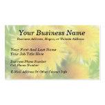 Spring Dandelion Bouquet Business Card Templates