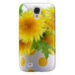Spring Dandelion Bouquet Galaxy S4 Covers