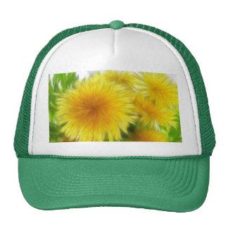 Spring Dandelion Bouquet Mesh Hats