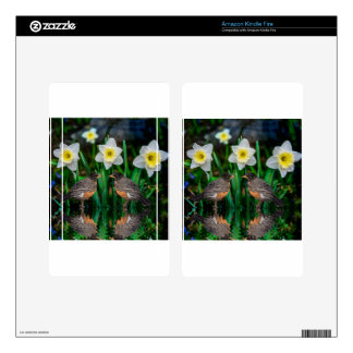 Spring Date Kindle Fire Skins