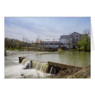 Spring Day At Ozark Mill Card