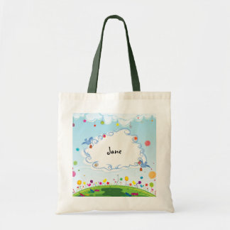 Spring Day Customizable Tote Bag
