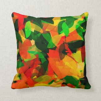 Spring Delights Throw Pillow