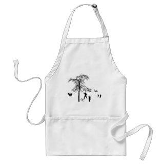 Spring depression adult apron