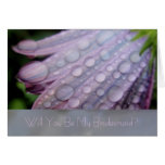 Spring Dewdrops Greeting Card