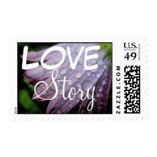 Spring Dewdrops Postage Stamp