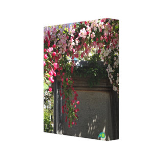 spring door canvas print