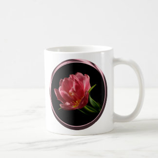 Spring Double Bloom Tulip Coffee Cup