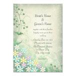 Spring Dream Pastel Flowers Wedding Invite