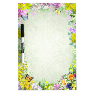 Spring Dry-Erase Boards