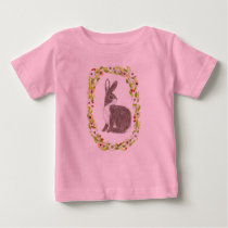 Spring Easter Bunny Baby T-Shirt