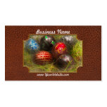 Spring - Easter - Easter Eggs Double-Sided Standard Business Cards (Pack Of 100)
