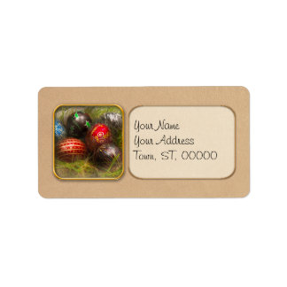 Spring - Easter - Easter Eggs Personalized Address Label
