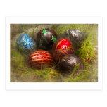 Spring - Easter - Easter Eggs Postcard