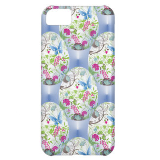 Spring Easter Egg Butterfly Flowers Vines Design iPhone 5C Cover