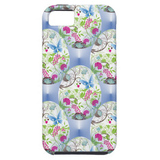 Spring Easter Egg Butterfly Flowers Vines Design iPhone 5 Covers