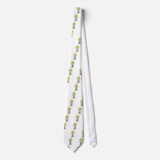 spring easter egg tree tie